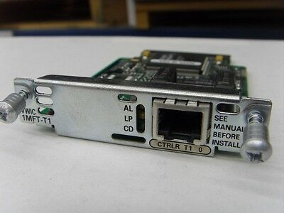 Cisco VWIC-1MFT-T1 2610 2621 2611 3640 2811 2821 3725