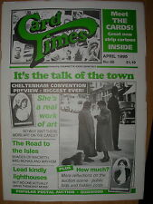 CARD TIMES MAGAZINE FORMERLY CIGARETTE CARD MONTHLY No 66 APRIL 1995