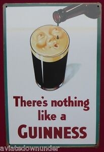 There's nothing like a Guinness Tin Poster