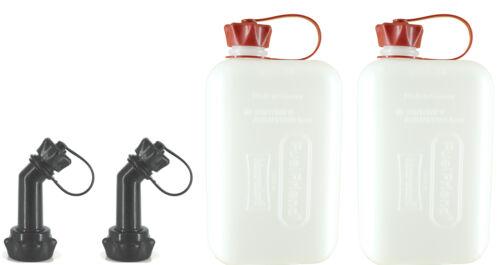 Big Clear 2 litri tanica di benzina riserva TANICA Macchina Moto 2x fuelfriend ®
