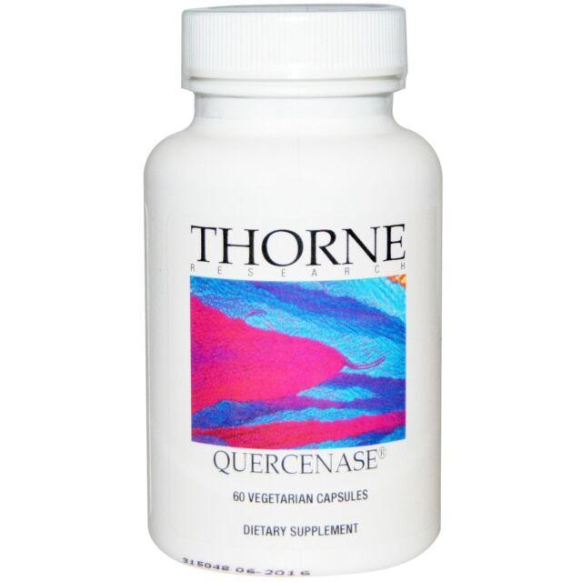 Quercenase, 60 Vegetarian Capsules - Thorne Research