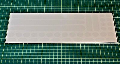 High Quality Chip /& Scratch Guard Stickers for Bicycles BMX Etc