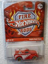 VHTF 2009 FIRE RODS HOT WHEELS - ANGLIA PANEL TRUCK #10/26 In Protector!
