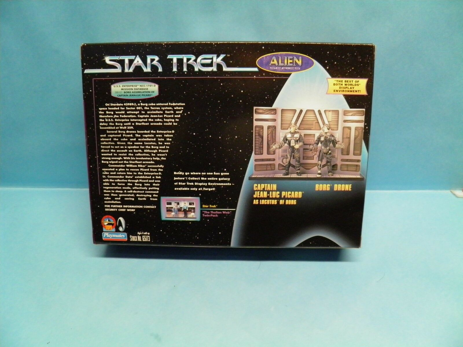 Playmates Star Trek Trek Trek Alien Series Borg Drone  & Jean As Locutus Target Exclusive 977271