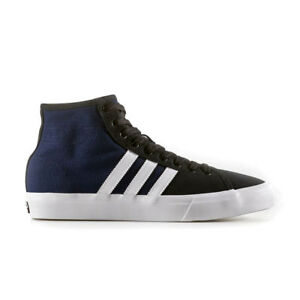 Adidas - Matchcourt High RX  BY3993 - Mens Skate Shoes  Navy / White / Black