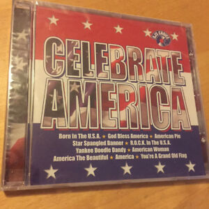 CELEBRATE AMERICA - DJ's Choice 4th Of July BRAND NEW & FACTORY SEALED CD