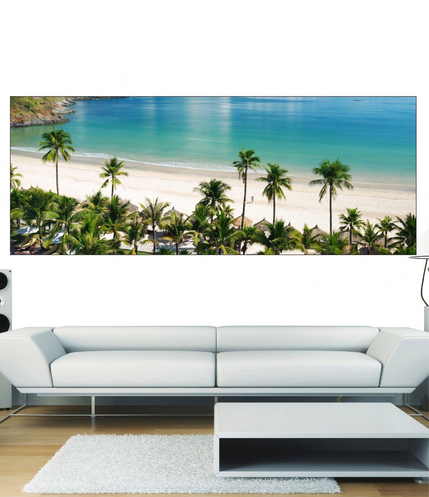 Papel pintado panorámica Árboles de Palma 3609 Arte decoración Pegatinas