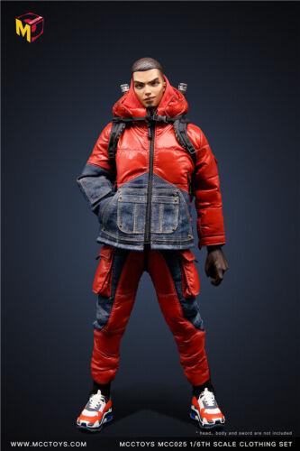 MCCTOYS MCC025 1//6 down coat Set Fashion Down Jacket Clothes F 12/'/' Figure Toy