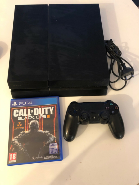 Playstation 4, God, Sælger min Playstation 4 500GB Standen…