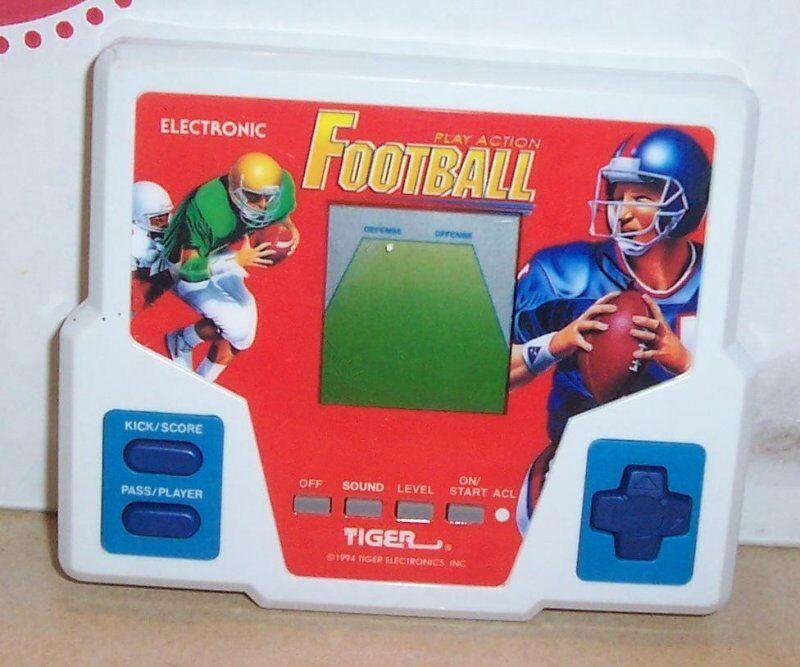 venta con alto descuento Vintage 1994 video juego Portátil Tiger Electronics de fútbol muy muy muy difícil de encontrar Rara  nueva marca