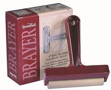 Speedball Brayer - 10 cm (4 inch) Soft Rubber With Pop-In Roller