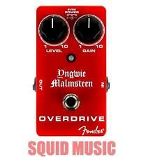 Fender Yngwie Malmsteen Overdrive Pedal True Bypass ( SHIPS WORLDWIDE )