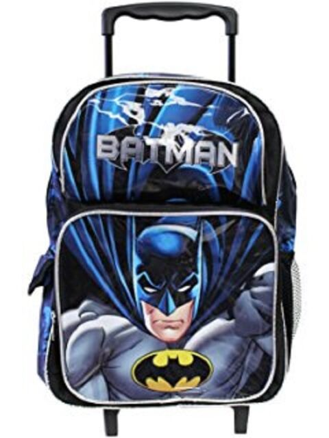 e86170d229c7 DC Comics Batman Roller Backpack Bat Man 16