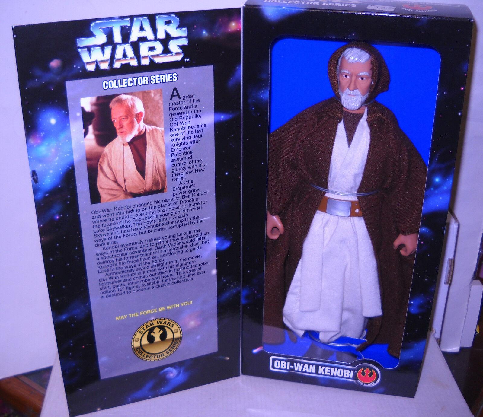 7922 nrfb kenner star - wars - 12  obi - wan kenobi action - figur