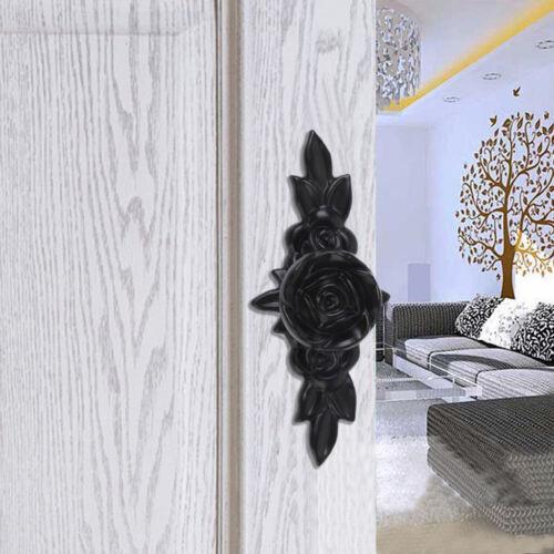 Europäischen Retro Stil Türknopf Möbelgriffe Möbelknopf für Schrank Schwarz