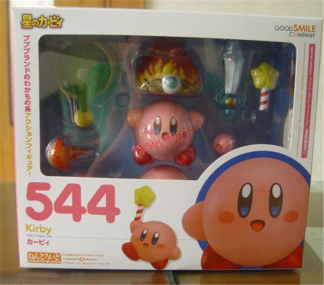 """Popopo Kirby 4""""/10cm PVC Figure Anime Toy Gift Nendoroid #544 Xmas Gift"""