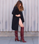 VETEMENTS-REFLECTOR-DARK-RED-LEATHER-SLOUCH-OVER-THE-KNEE-BOOTS-EU-40-US-10 thumbnail 2