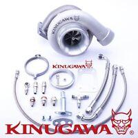 Kinugawa Ball Bearing Billet Turbocharger 4 Gt3582r A/r .89 T3 V-band External