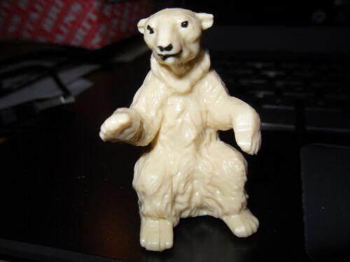 Britains LTD Zoo Animale Orso polare seduto parte 1333 negozio stock nuovo Nuovo di zecca vintage