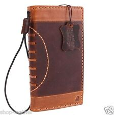 genuine italian leather Case for apple iphone 6s book wallet cover 6 s sprot Art