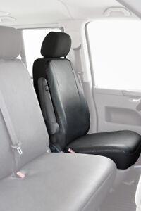 Autositzbezüge Volkswagen Touran I 03-10 5-Sitze Schwarz PKW Sitzbezüge Schoner