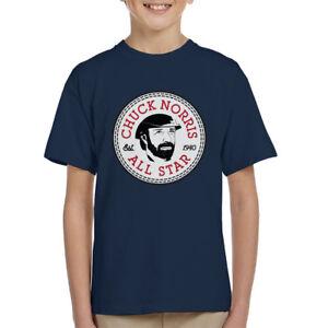 b5cb497112c9 Image is loading Chuck-Norris-All-Star-Converse-Logo-Kid-039-
