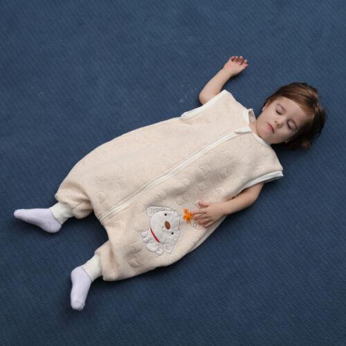 Baby Toddler Kids 100/% Cotton Wearable Organic Blanket Sleeping Bag Winter Wrap