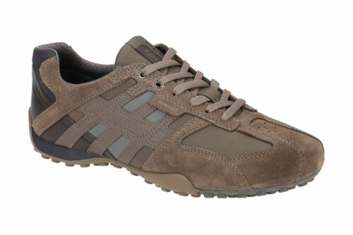 Geox Respira Sport Snake K Herren Sneakers Halbschuhe U4207K C6140 Taupe SALE