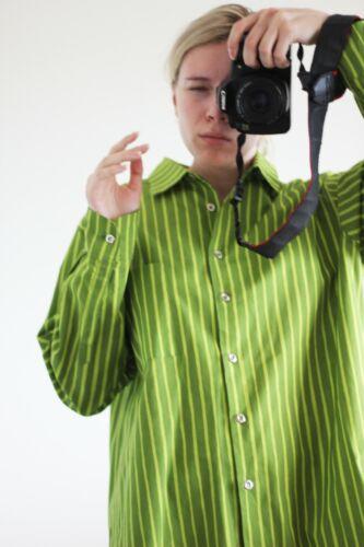 Marimekko Jokapoika Striped Green Cotton Unisex Vi