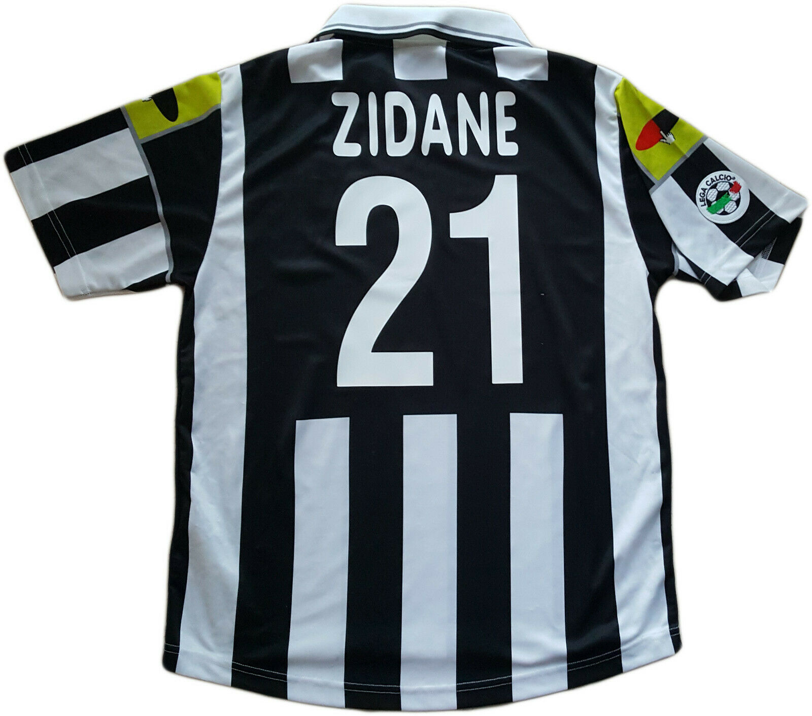 Maglia juventus zidane Lotto 2000 2001 L away Uefa champions League Jersey