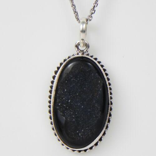 Details about  /Solid 925 Sterling Silver Solar Quartz Pendant Necklace Women PSV-1091