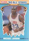 1990 Fleer Michael Jordan #5 Basketball Card