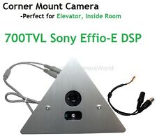 CCTV Spy Corner Mount Hidden Security IR Camera 700 TV Lines with 2.8mm Lens
