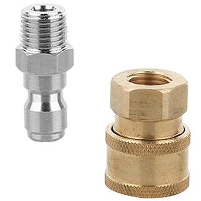 Raccord rapide de 2 pièces pour nettoyeur haute pression easy connect