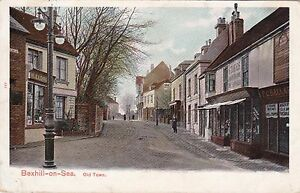 BEXHILL-ON-SEA-SUSSEX-OLD-TOWN-COLOUR-POSTCARD-1903