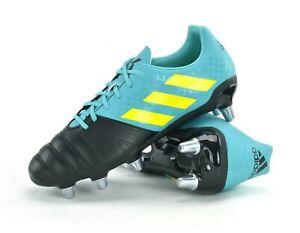 Adidas Kakari SG Homme Rugby Bottes Nouveau UK 10 hiraqua/Jaune/noir marque AC7720