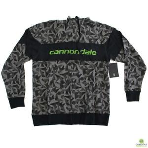 Sugoi-Cannondale-Black-Camo-Hoodie-Medium