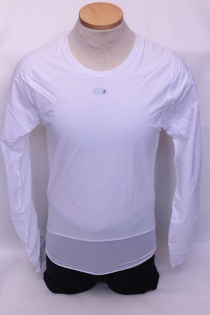 Louis Garneau SF-2 Long Sleeve Plastron Top Men/'s XL White Retail $59.99