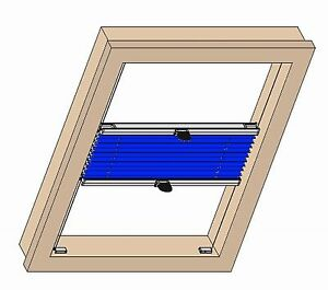 plissee jdl palermo sicht u sonnenschutz heim haus renolux dachfenster ebay. Black Bedroom Furniture Sets. Home Design Ideas