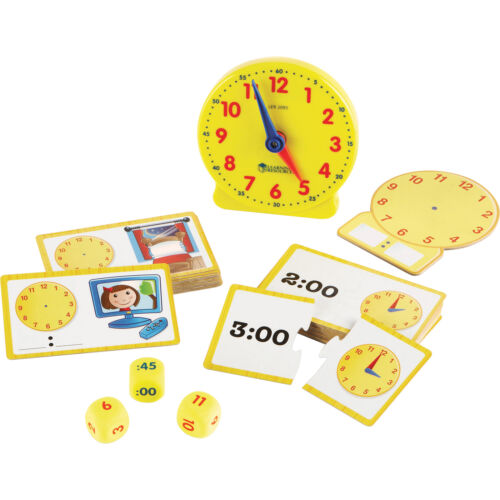 ler3220 Learning Resources Time Activity Set