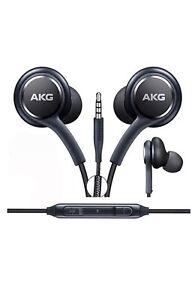 genuine akg earphones headphones for samsung galaxy s8 s9 s9 plus note 8 mic ebay. Black Bedroom Furniture Sets. Home Design Ideas