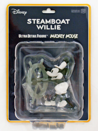 Disney Steamboat Willie Medicom UDF-350 Ultra Detail Figure Mickey Mouse