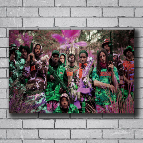 N-767 ASAP Rocky Yamborghini High Hot Wall Poster Art 20x30 24x36IN