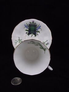 MACDONALD-TARTAN-WITH-THISTLE-ADDERLEY-CABINET-TEA-CUP-AND-SAUCER