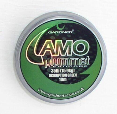 Gardner Camo Plummet Leadcore Camou Brown 15,9kg Camou Green 10 Meter 35lbs