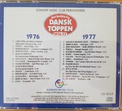 V/A: Det Bedste fra Dansktoppen 1976-77 (2-disc), pop