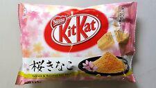 NESTLE KITKAT JAPAN 12P  SAKURA KINAKO 1PACK (12P) FREE SHIPPING