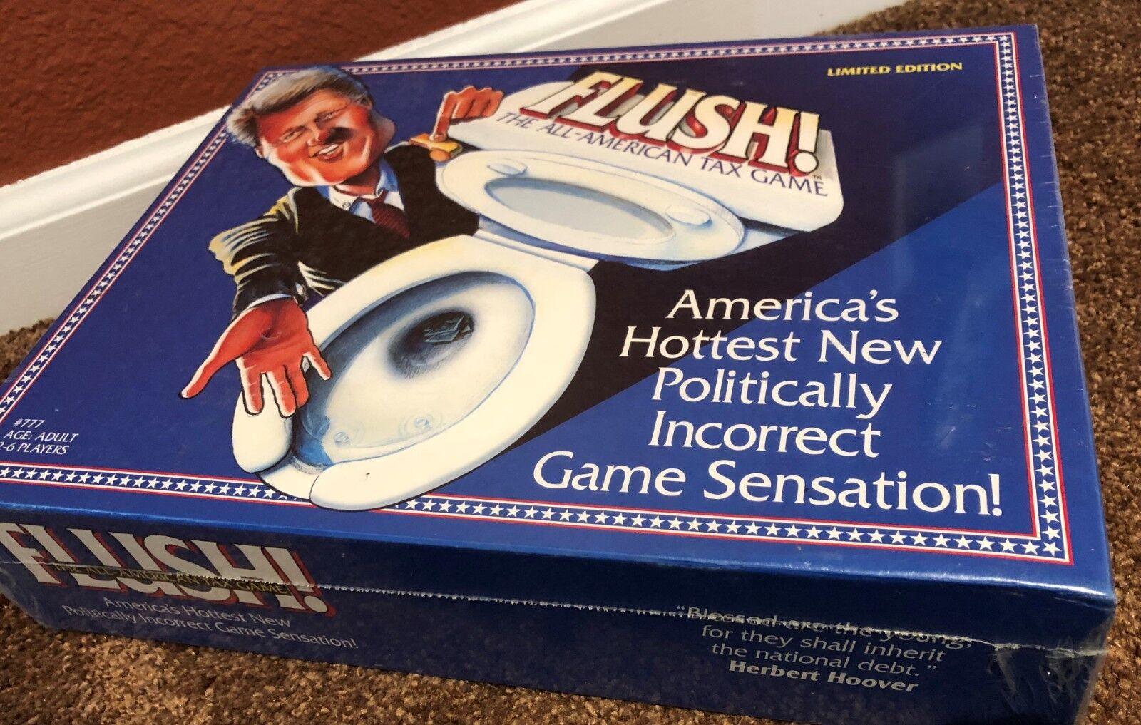 i nuovi stili più caldi Nuovo Nuovo Nuovo Sealed FLUSH  tutti-American Tax tavola gioco  Clinton  Limited edizione  Rare  ordina ora i prezzi più bassi
