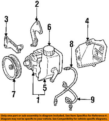 1998 jeep grand cherokee hose diagram jeep chrysler oem grand cherokee power steering pump mount bracket  jeep chrysler oem grand cherokee power