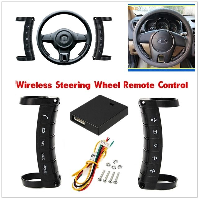Universal Wireless Car Steering Wheel Button Remote Control For